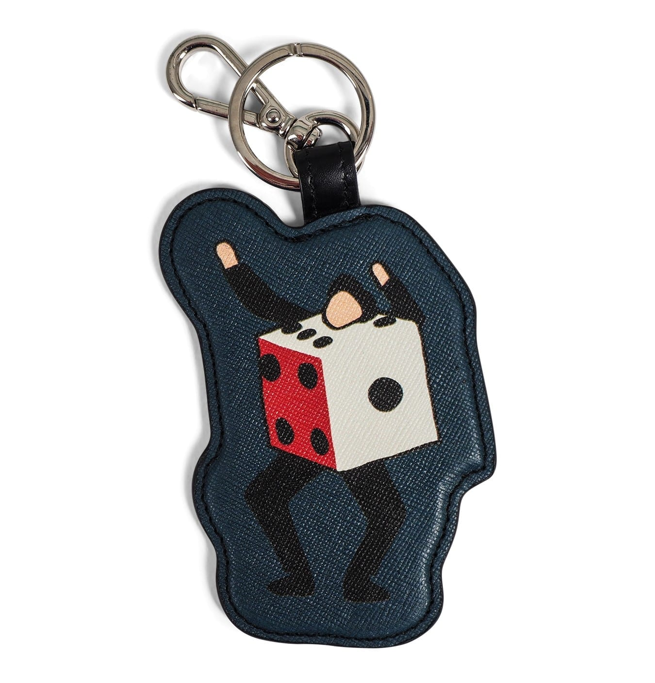 Image of   Men Keyfob Dansing Dice