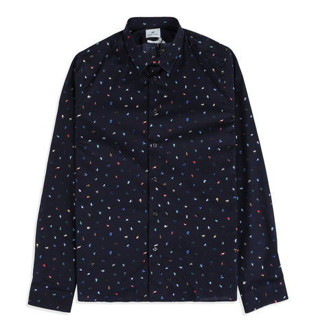 Mens Pattern Slim Fit Shirt
