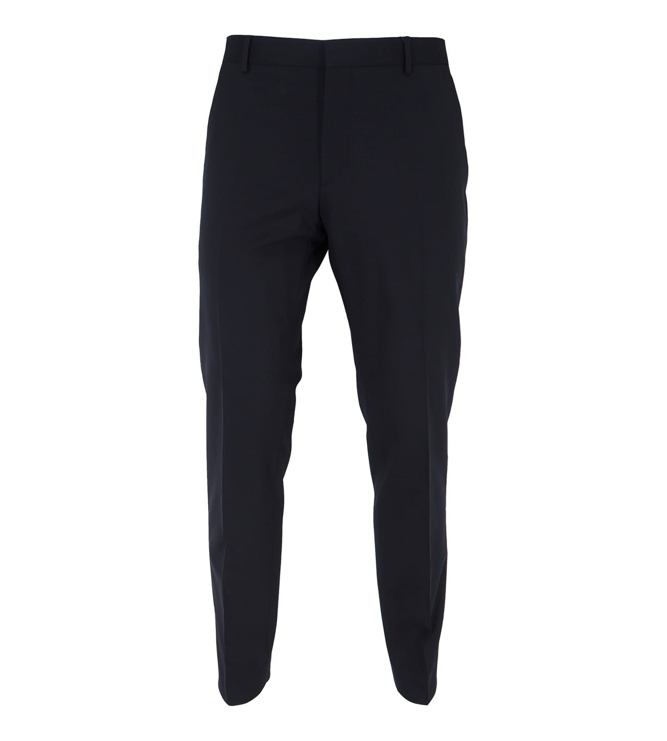 Image of   Fitted Wool Stretch Trousers