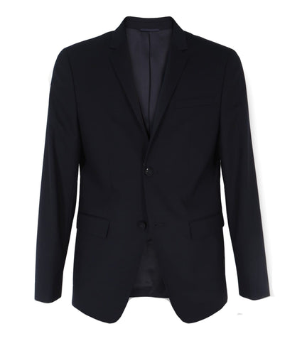 Calvin Klein - Fitted Wool Stretch Blazer