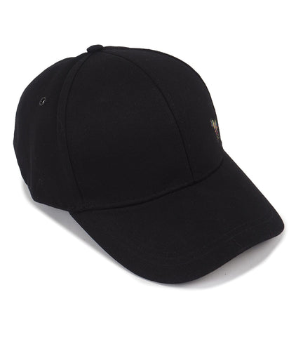 Mens Hat Zebra Baseball Black