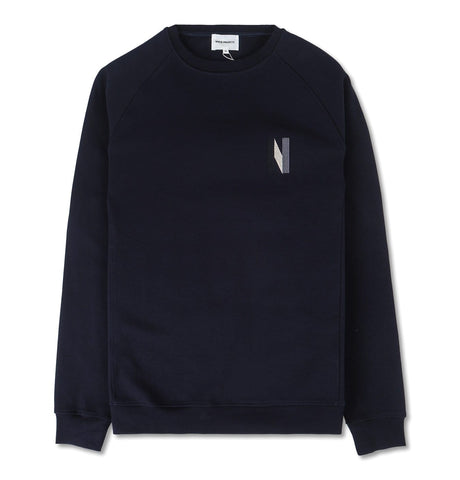 Norse Projects - Ketel Crew Multi N Logo