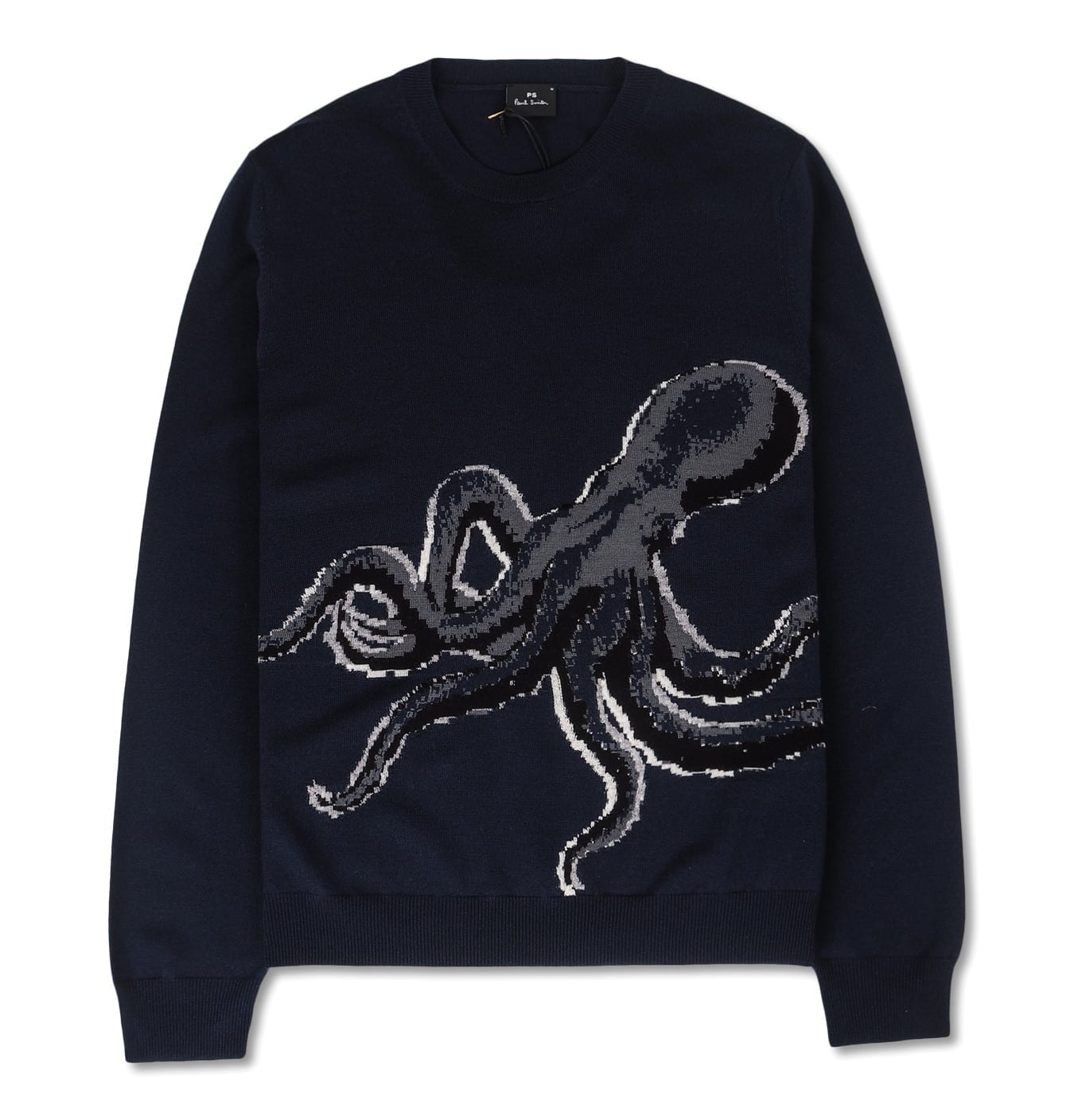Image of   Mens Pullover octopus