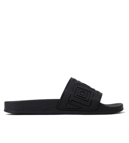 Scarpe, black slippers greek inspired