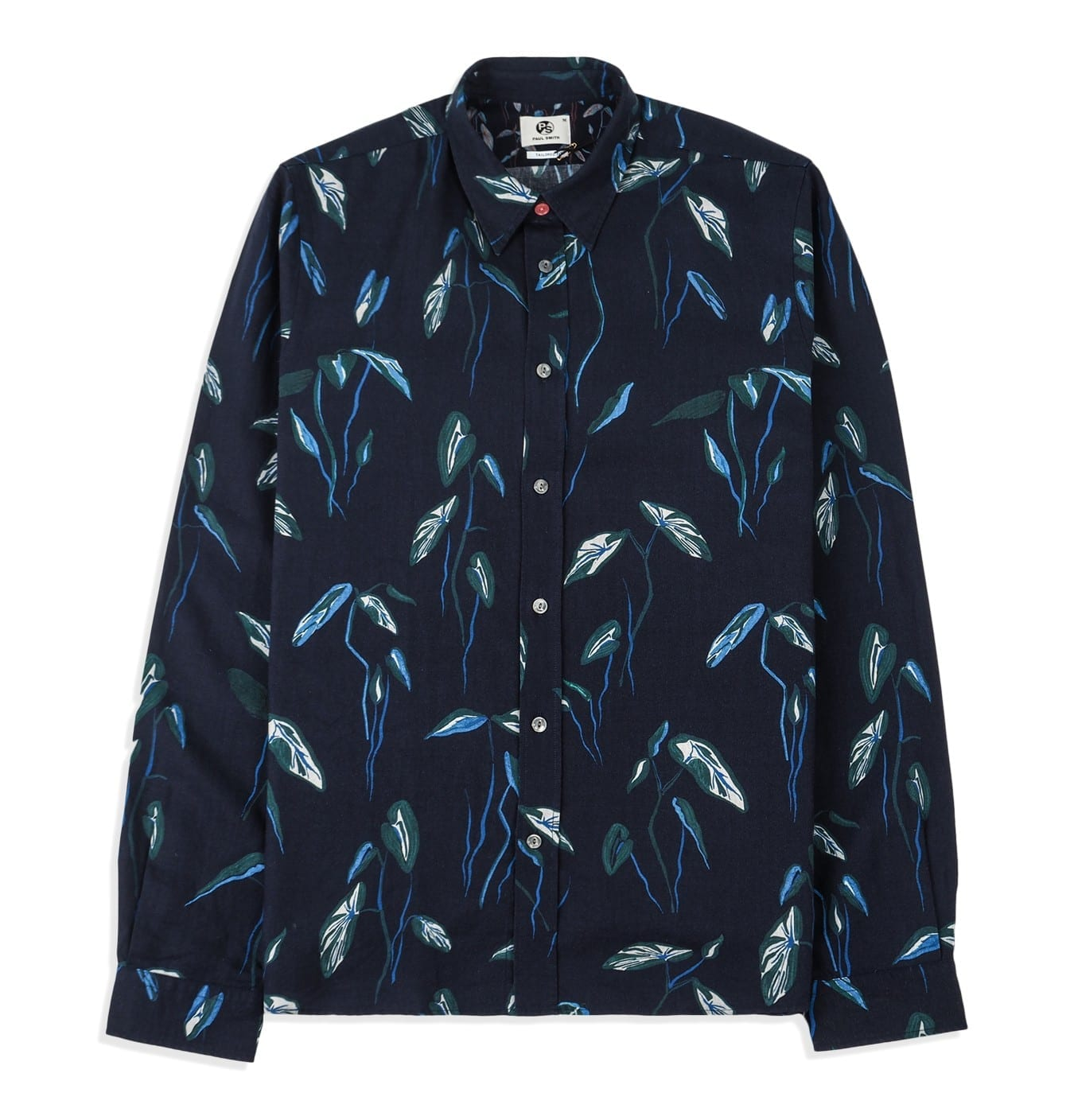 Image of   Mens tailored leaf shirt