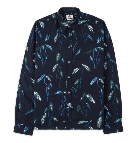 Mens tailered leaf shirt