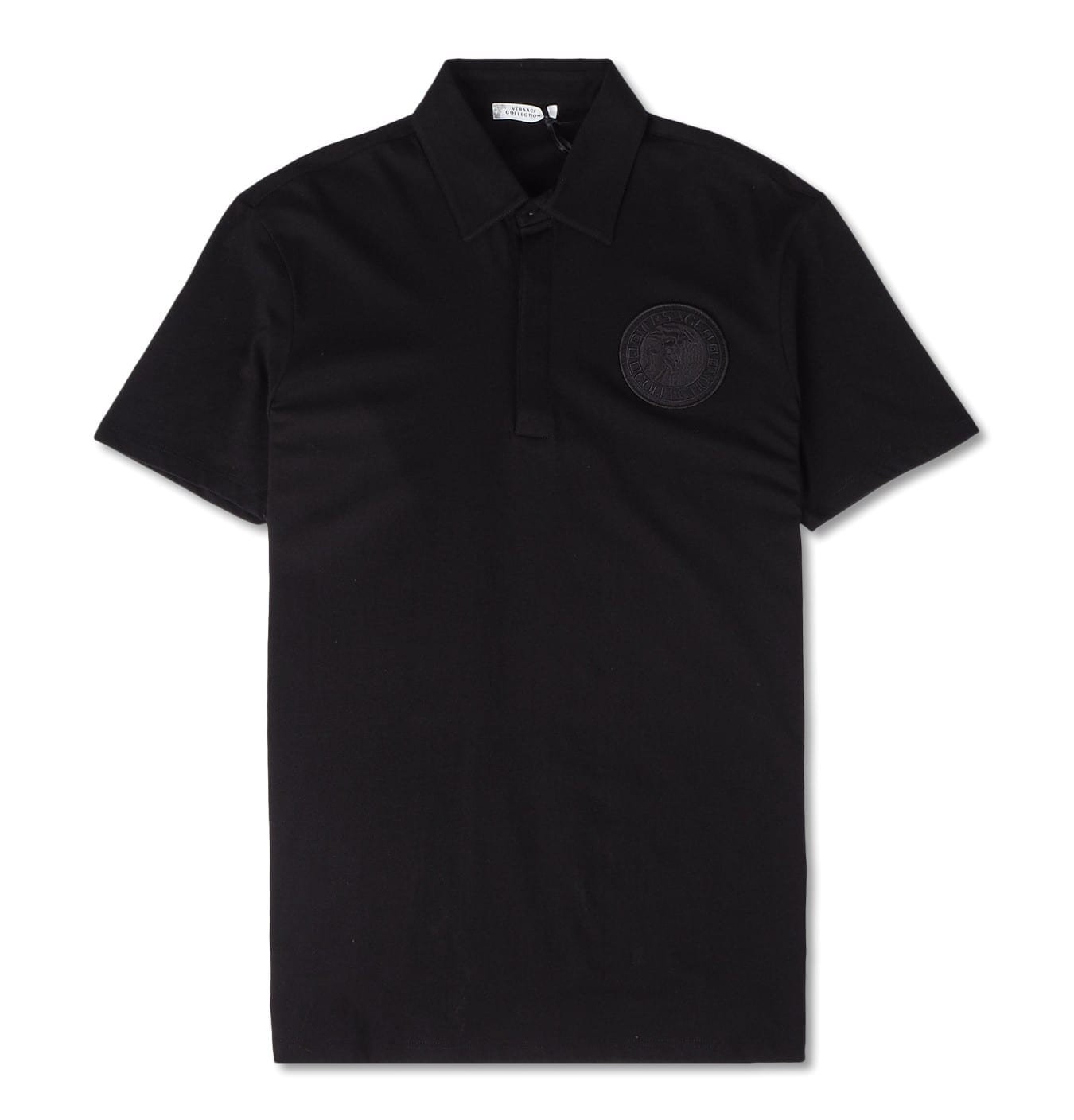 Image of   Polo 3 Bott., black with round Medusa