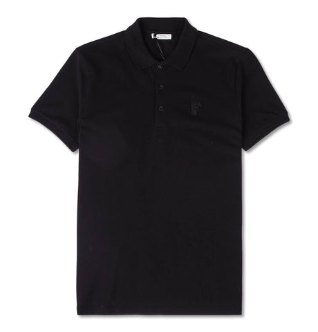 Versace Collection - Polo 3 Bott., black Medusa