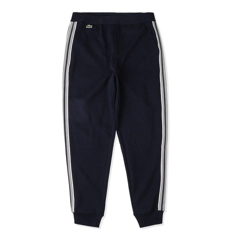 Logo Sweatpants Vertical Stripes