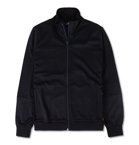 Mens Track Top Funnel Neck