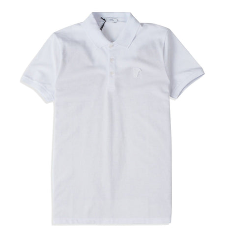 Versace Collection - Polo 3 Bott., white Medusa