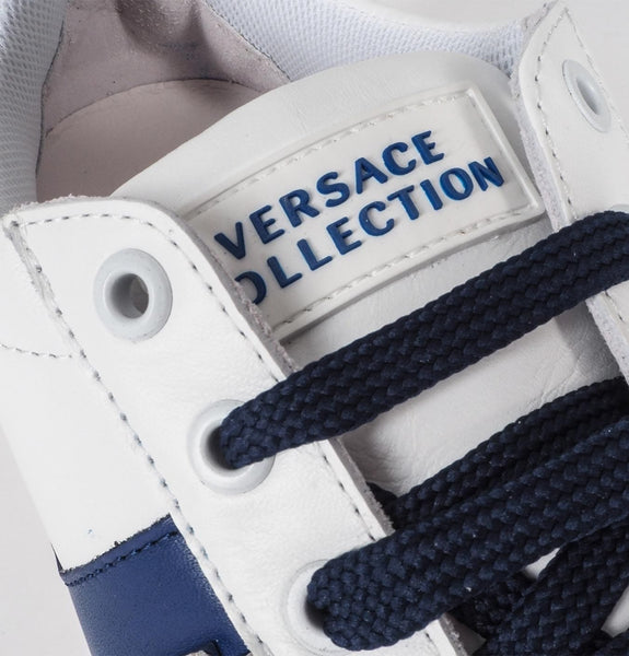 Versace Collection - Scarpe Blue-Bianco-Nikel