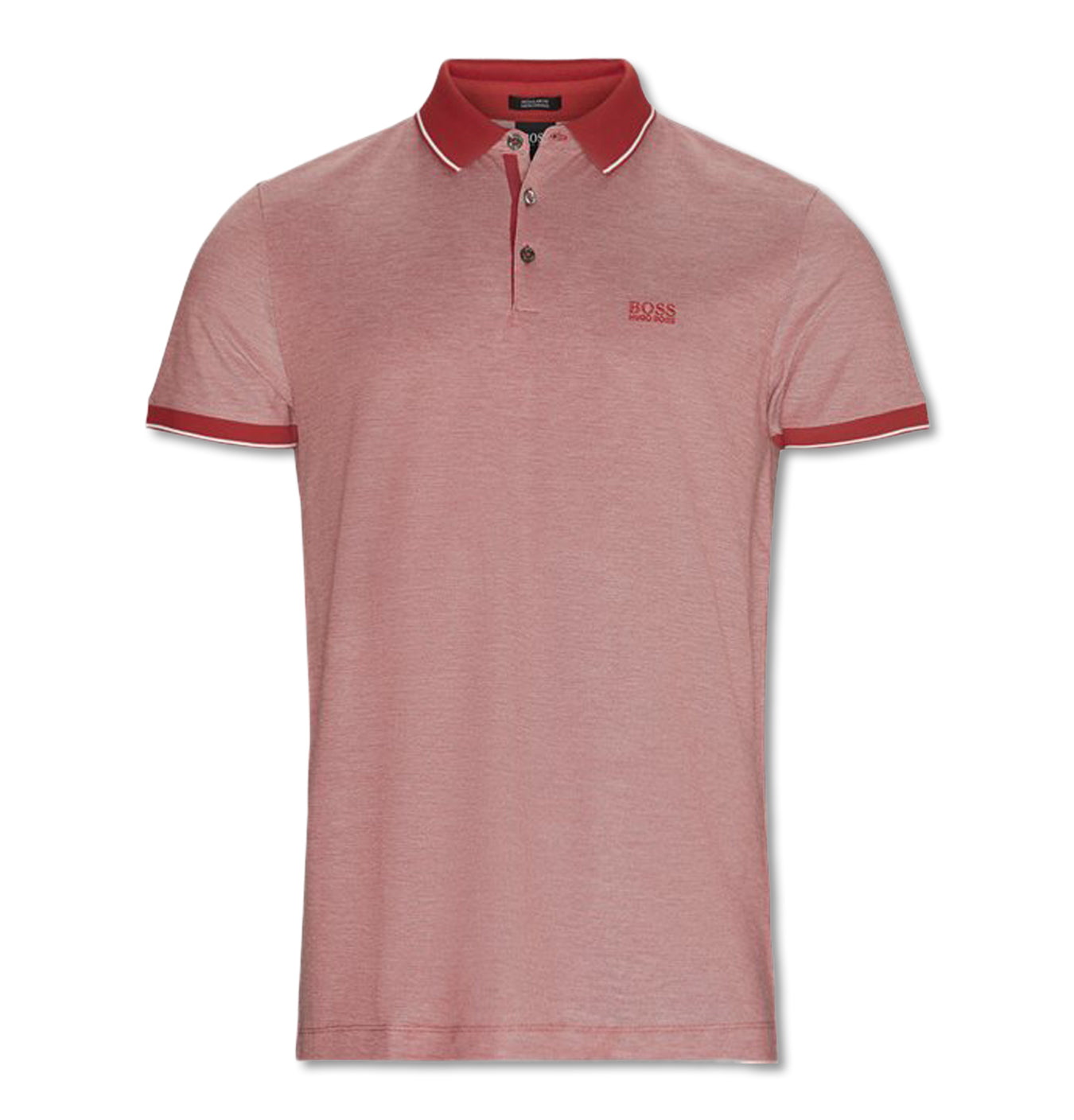 Image of   Regular Fit Mercerised Polo Red