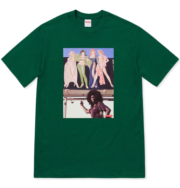 American Picture Tee Green