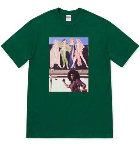 Supreme - American Picture Tee Green