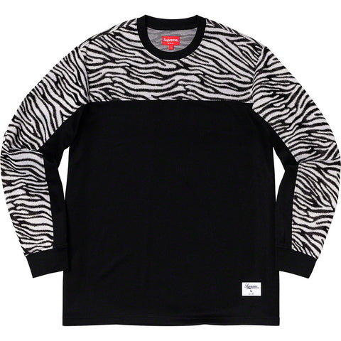 Supreme - Zebra L/S Top Black