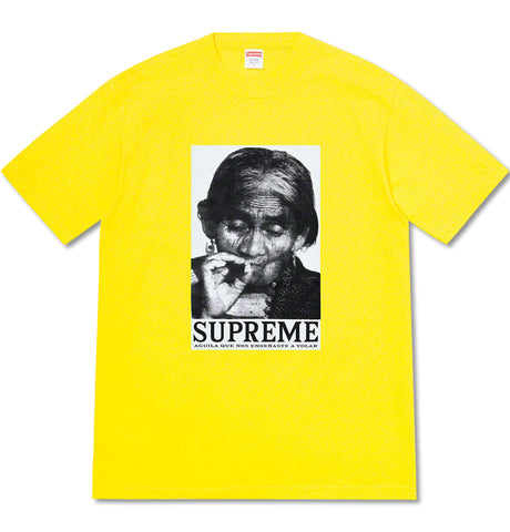 Supreme - Aguila Tee Yellow