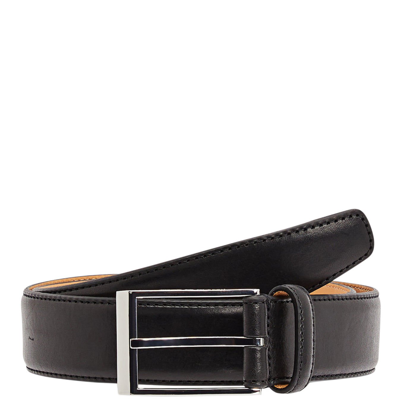 Image of   Helmi Black Leather Belt