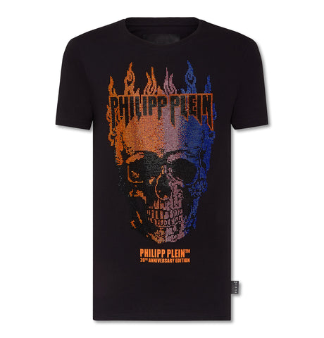 Philipp Plein - Round Neck SS Flame