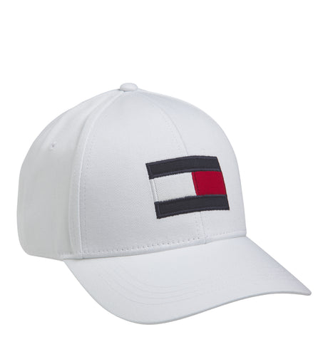 Tommy Hilfiger - Big Logo Flag Cap White