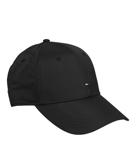 Tommy Nylon Cap Black