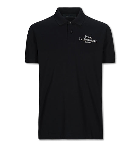 Peak Performance - Original Pique Polo Black