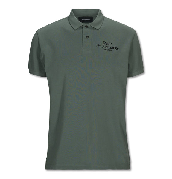 Peak Performance - Original Pique Polo Green