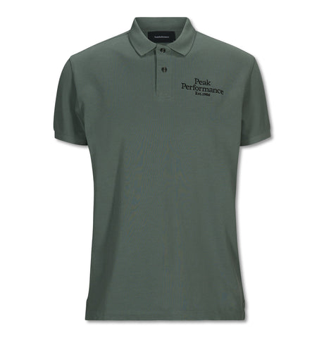 Original Pique Polo Green