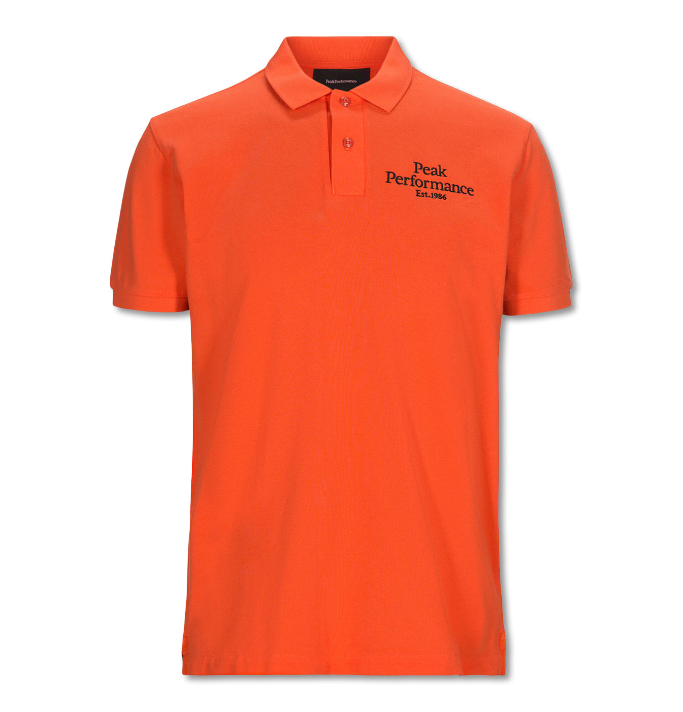 Image of   Original Pique Polo Orange