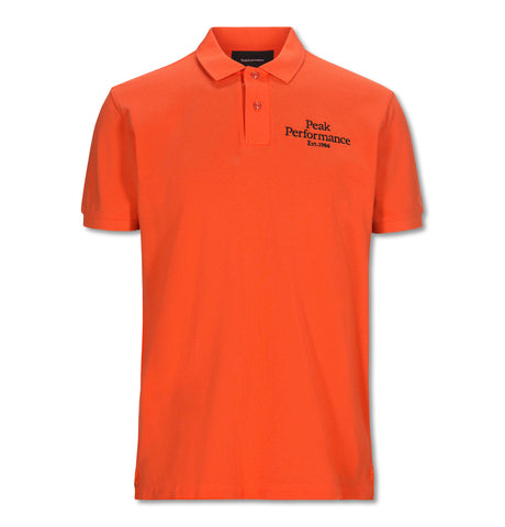 Original Pique Polo Orange
