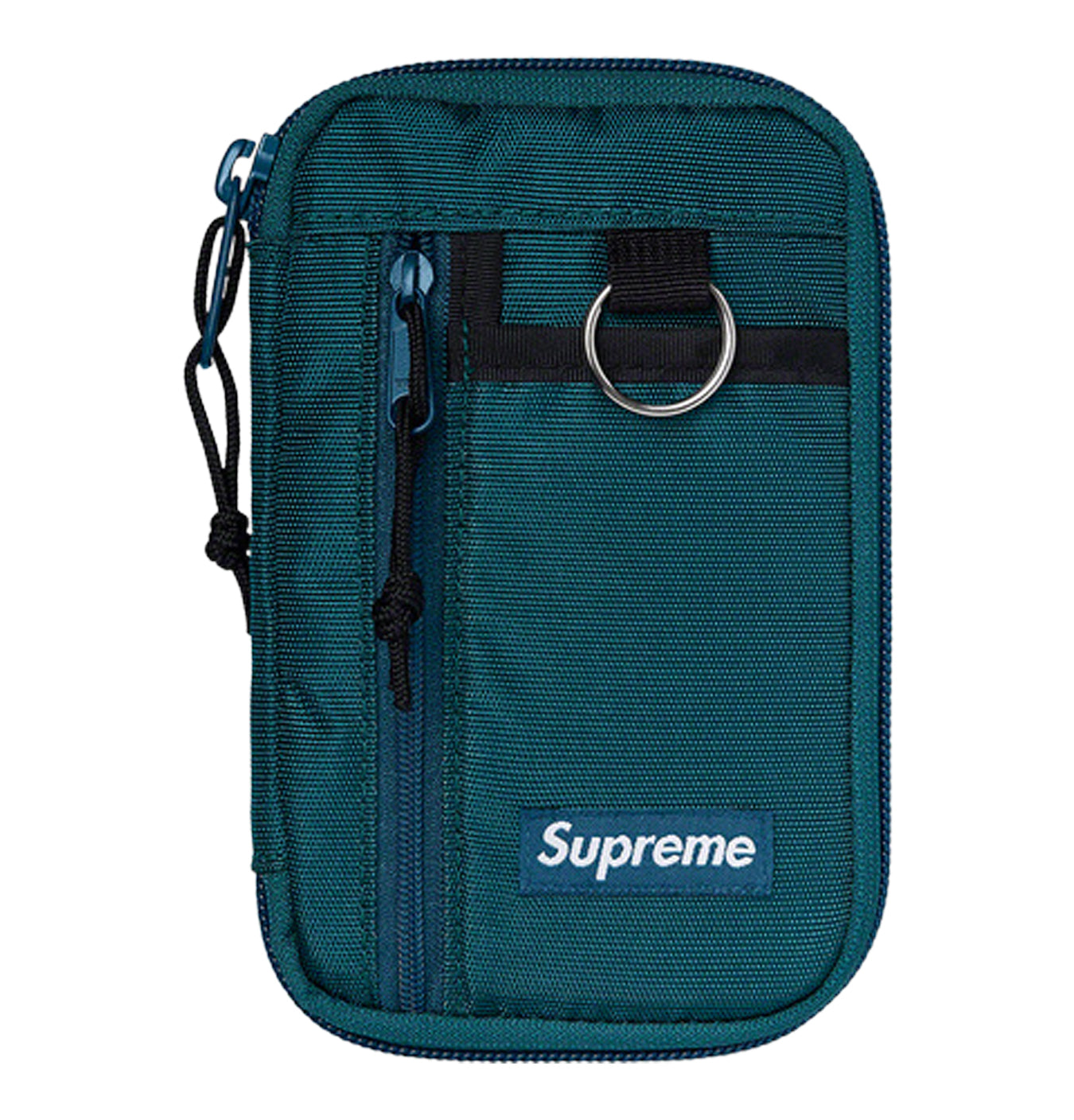 Image of   Supreme Wallet Zip Pouch Dark Teal