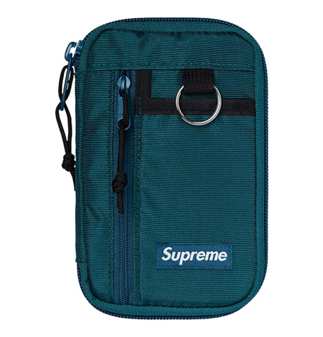 Supreme - Supreme Wallet Zip Pouch Dark Teal