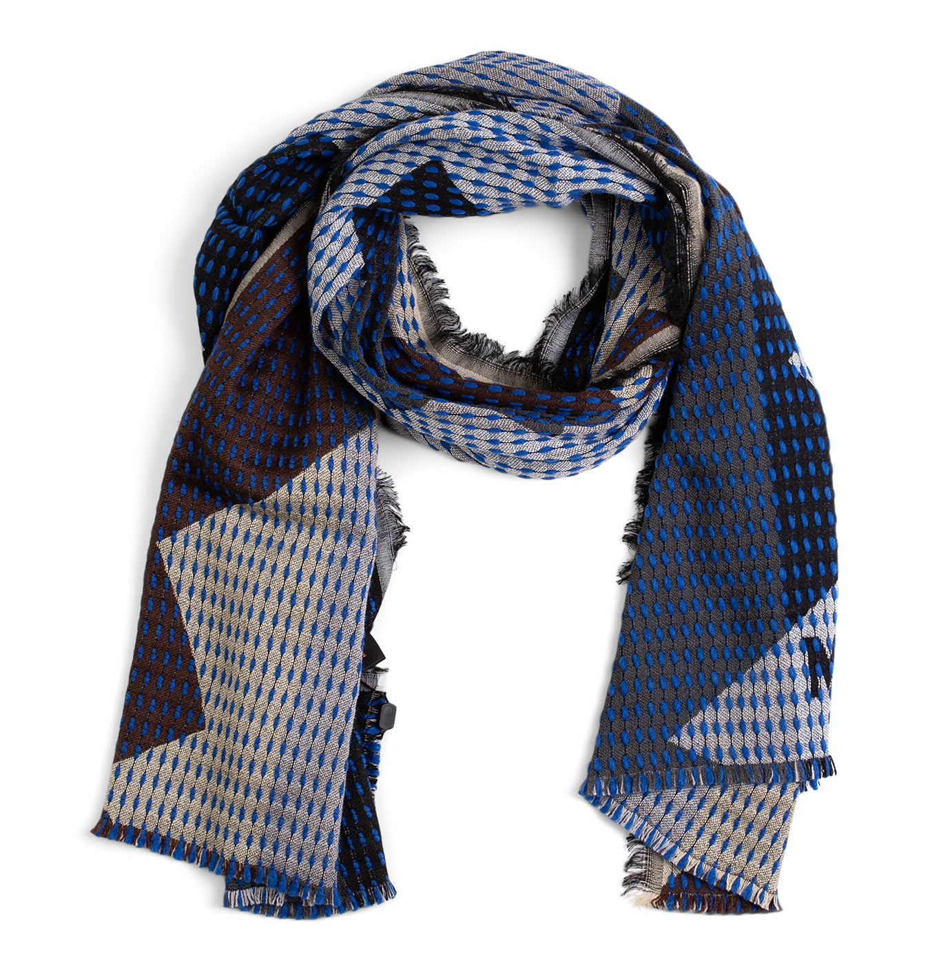 Missoni Black and Blue Scarf