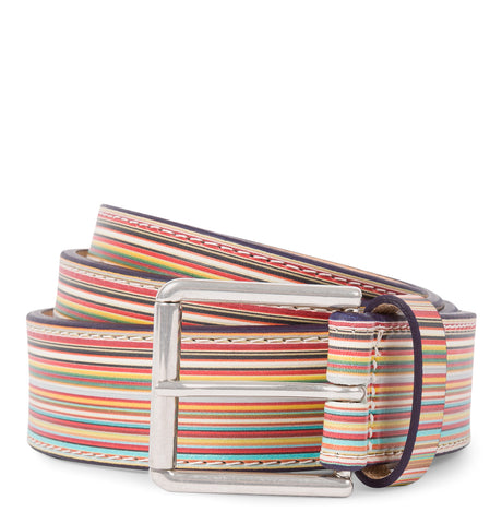 Paul Smith - Wide Belt Multicolor
