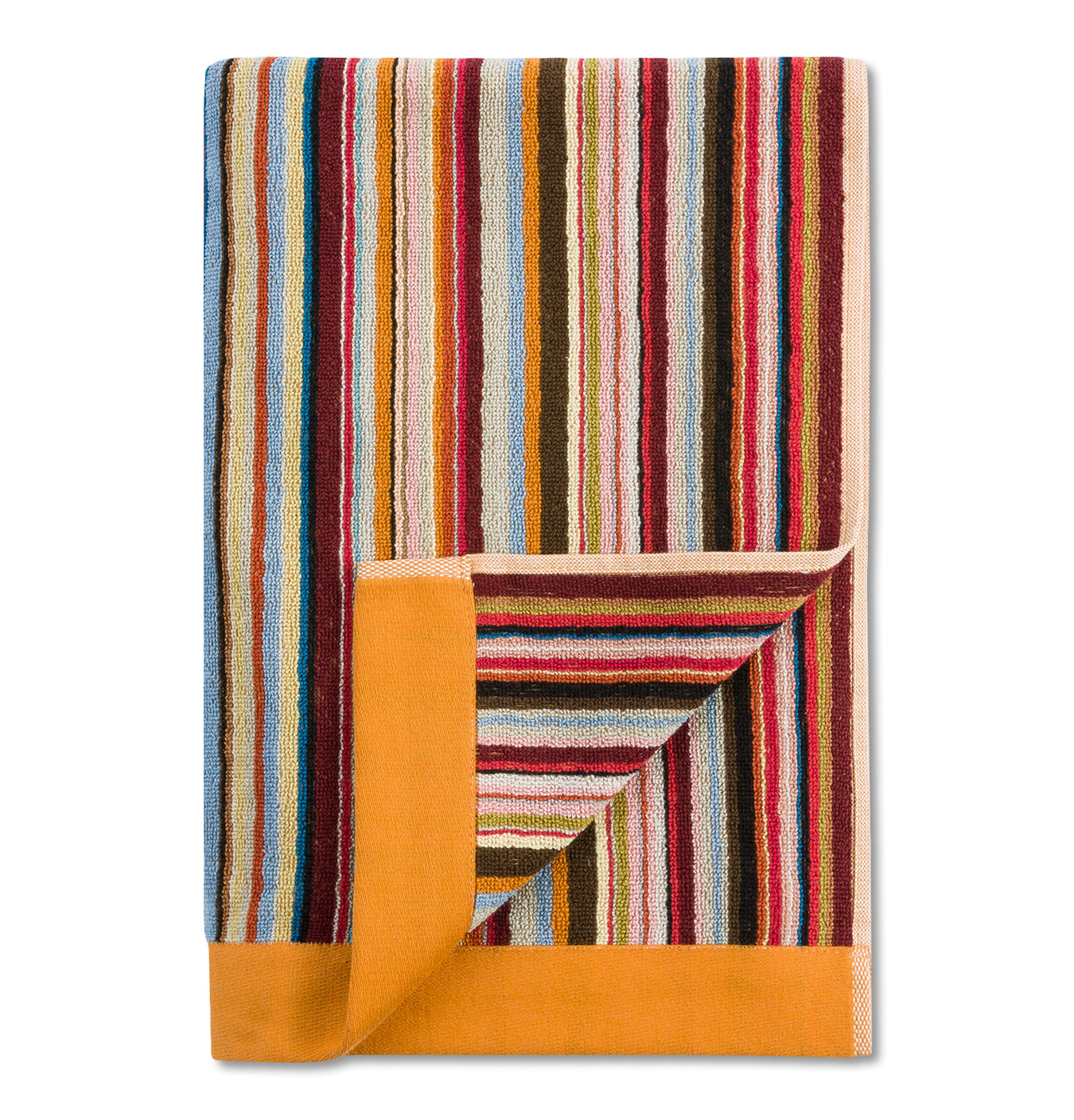 Towel Multistripe Knitted