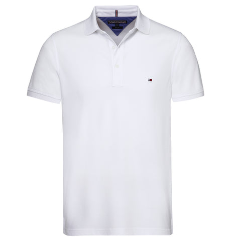 Tommy Hilfiger - Core Tommy ReYellowar Polo White NOS
