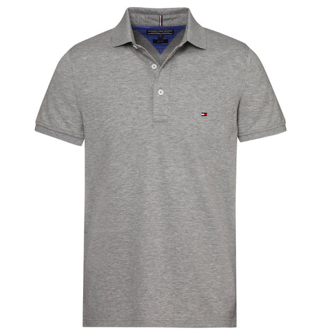 Tommy Hilfiger - Core Modern ReYellowar Polo Grey NOS