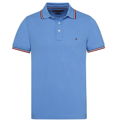 Tommy Hilfiger Tipped Slim Polo Blue
