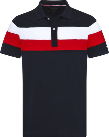 Tommy Hilfiger - Multi Chest Stripe Polo