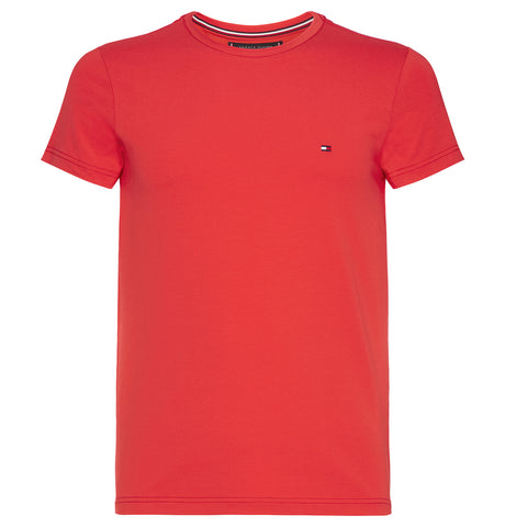 Tommy Hilfiger - Tee Tomato Red