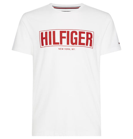 Tommy Hilfiger Box Logo T-Shirt White