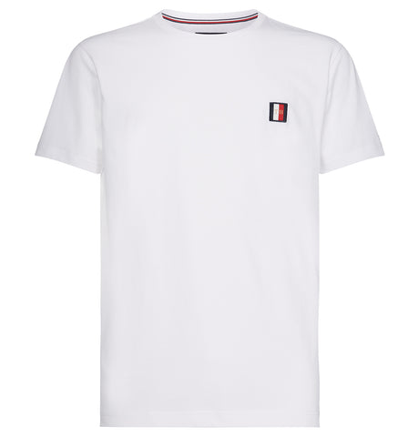 Tommy Hilfiger - Emblem Tee Bright White