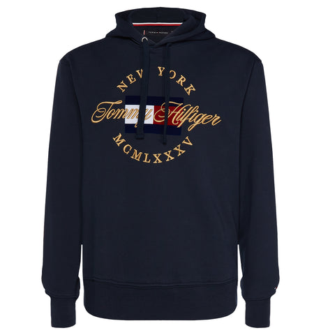 Tommy Hilfiger - Artwork Hoodie Dark Blue