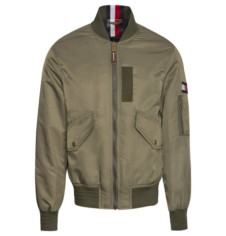 Tommy Hilfiger Bomber Jacket Green