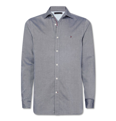 Slim 4 Way Stretch Shirt Grey