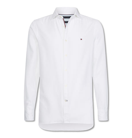 Slim 4 Way Stretch Shirt White