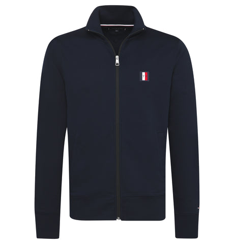 Tommy Logo Zip Shirt