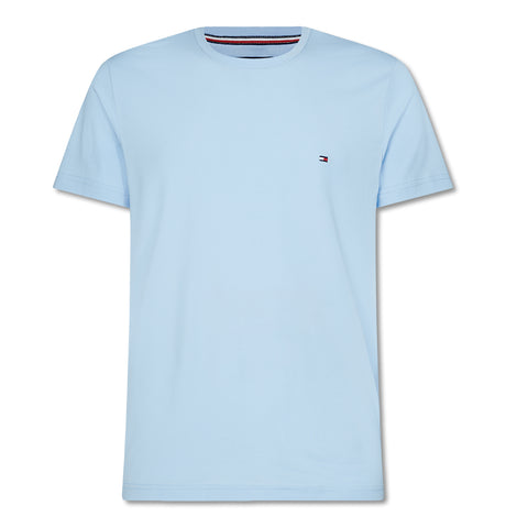 Tommy Stretch Slim Fit Tee Chambray