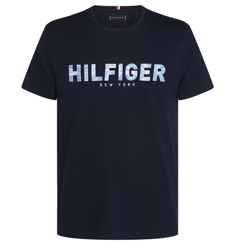 Tommy Hilfiger - Applique Tee Blue