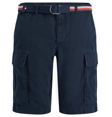 John Cargo Shorts Dark Blue